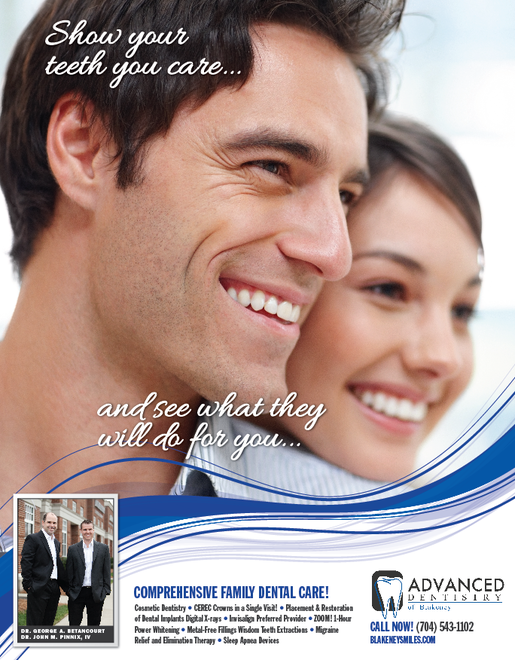 Cosmetic Advertising for dentists