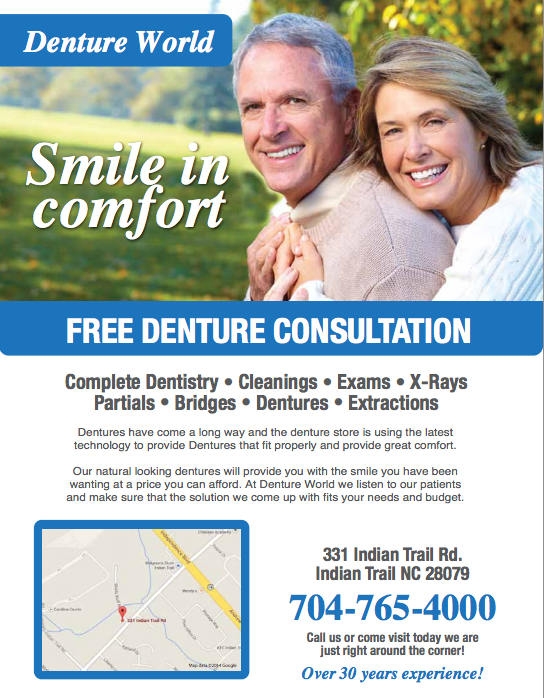 Denture Advertising